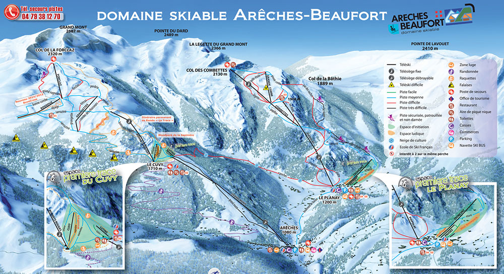Webcam Arêches Beaufort