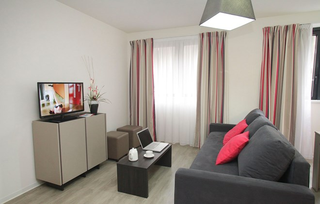 R sidence appart 39 h tel green marsh strasbourg lokapi for Residences appart hotel