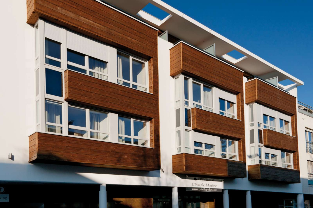 R sidence appart 39 hotel lagrange confort l 39 escale marine for Residences appart hotel