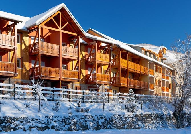 location chalet ski bonascre