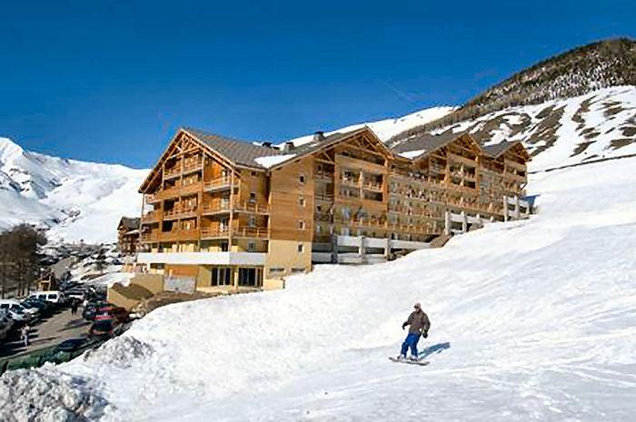 location appartement ski foux d'allos