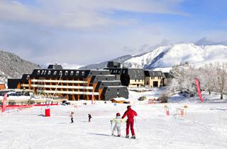 location ski val louron